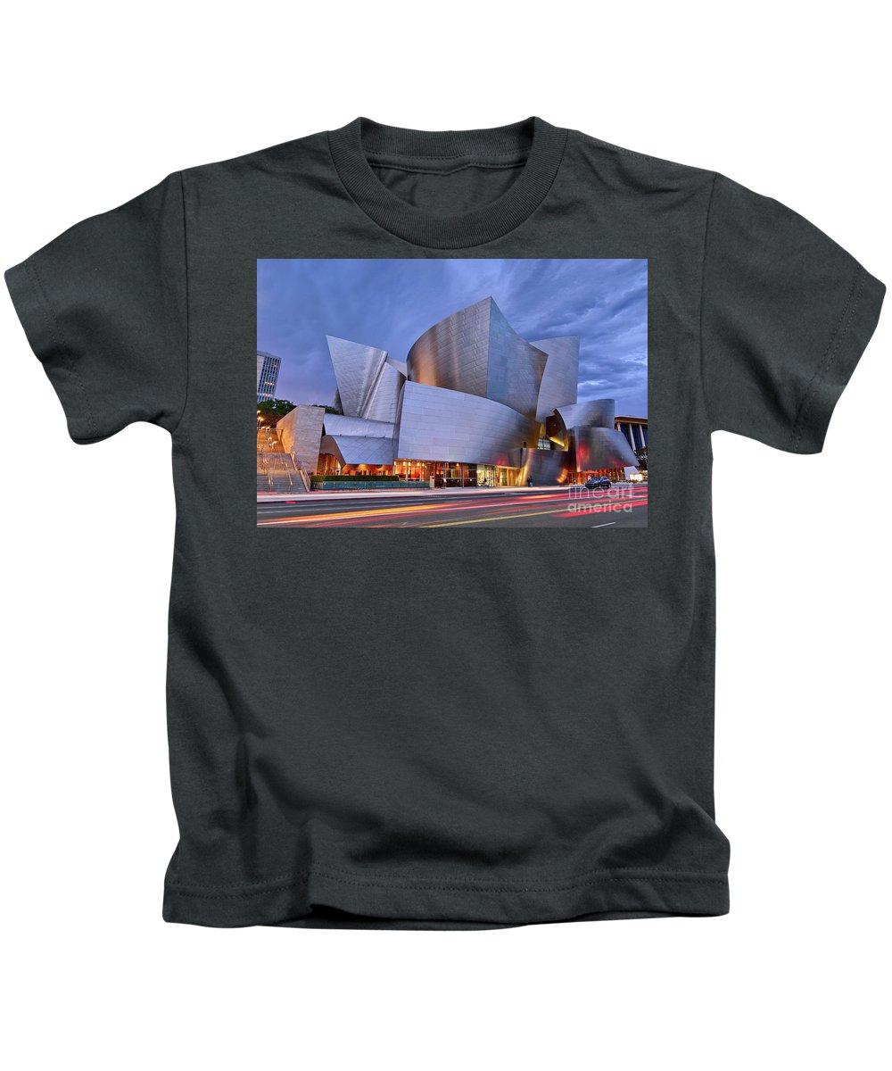 Walt Disney Concert Hall Photographs Kids T-Shirts