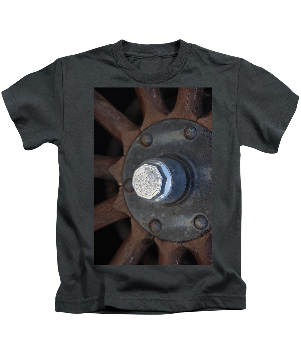 Hup Caps Kids T-Shirt featuring the photograph 1926 Model T Ford by Rob Hans