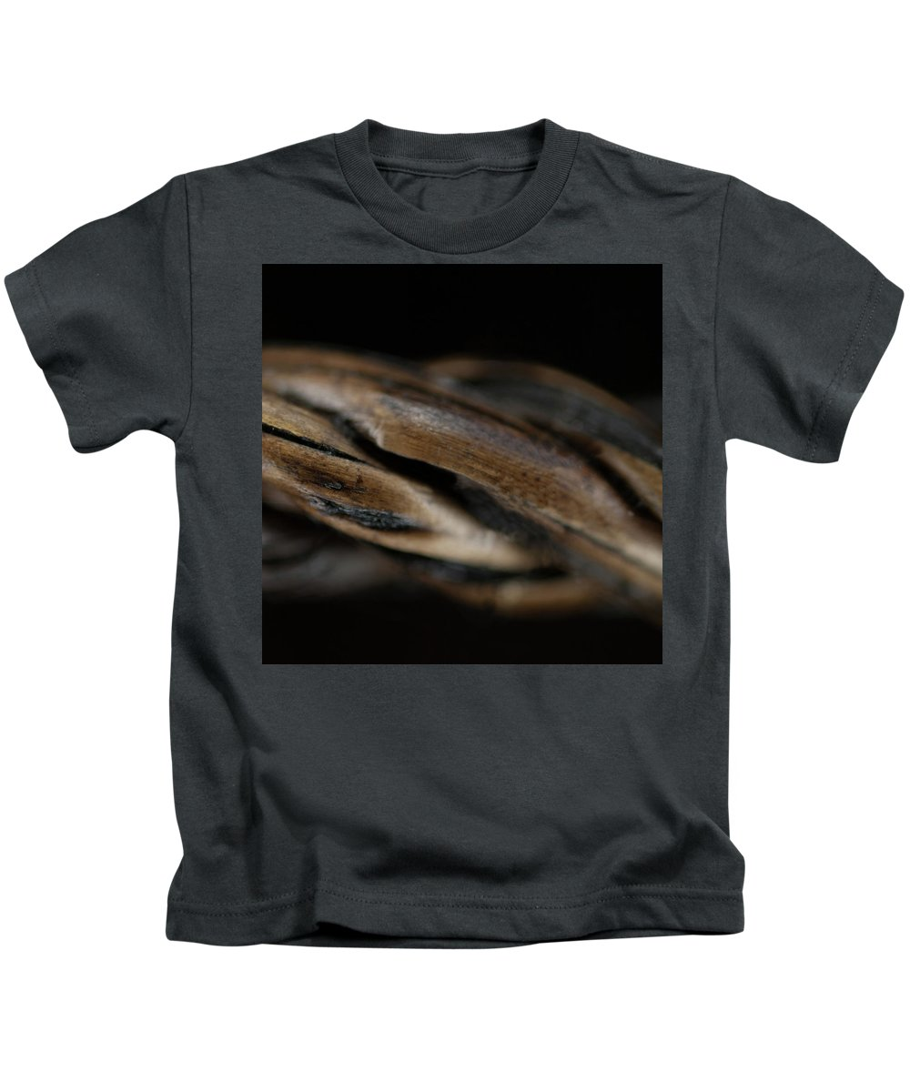 Macro Kids T-Shirt featuring the photograph Macro Of Everyday Object by Diane Schuler