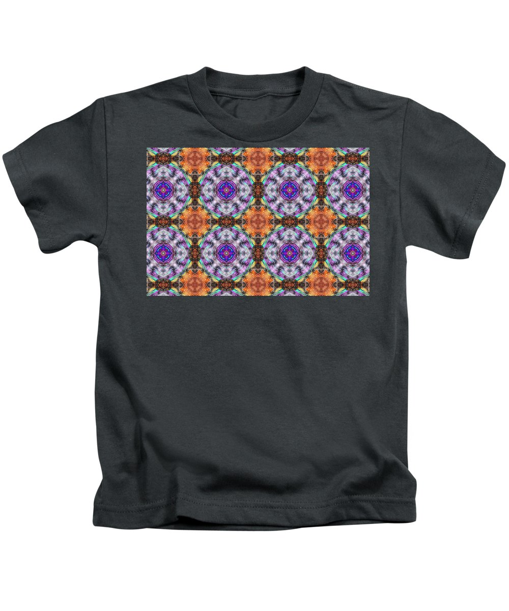 Marjan Mencin Kids T-Shirt featuring the photograph Arabesque 097 by Marjan Mencin