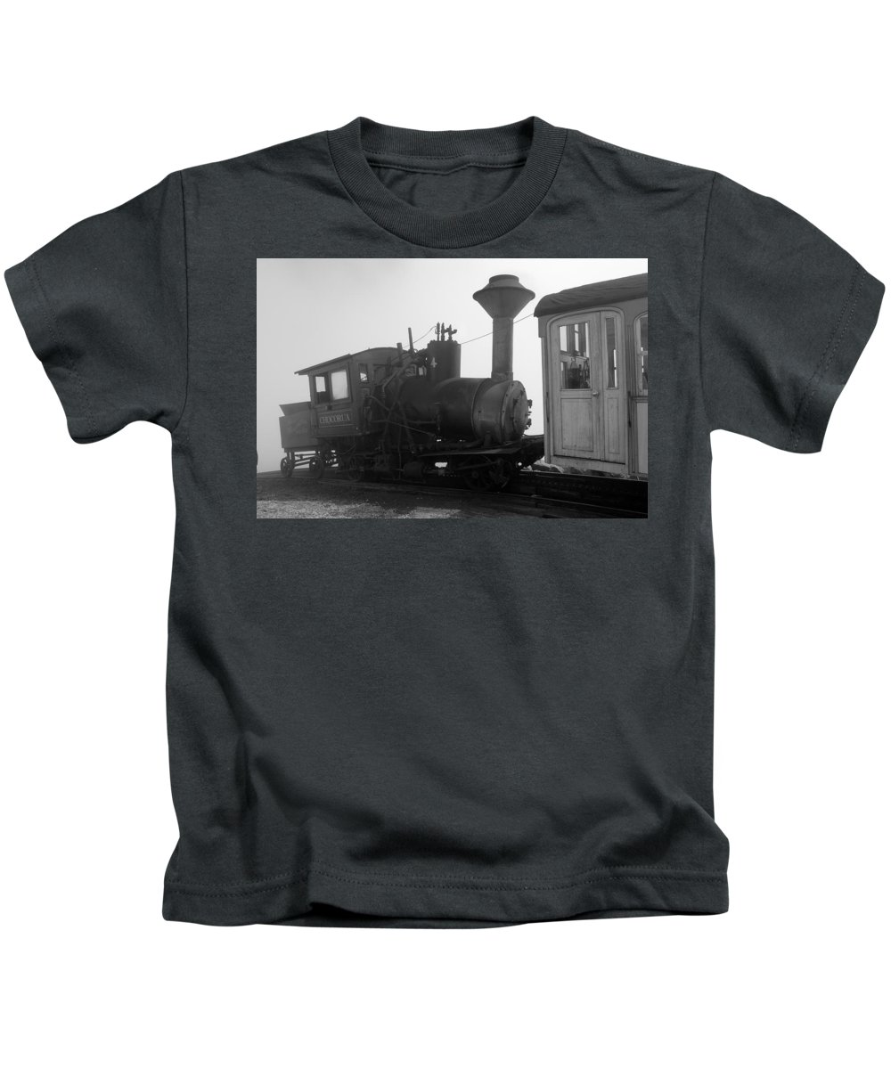 Train Kids T-Shirt featuring the photograph Train by Sebastian Musial