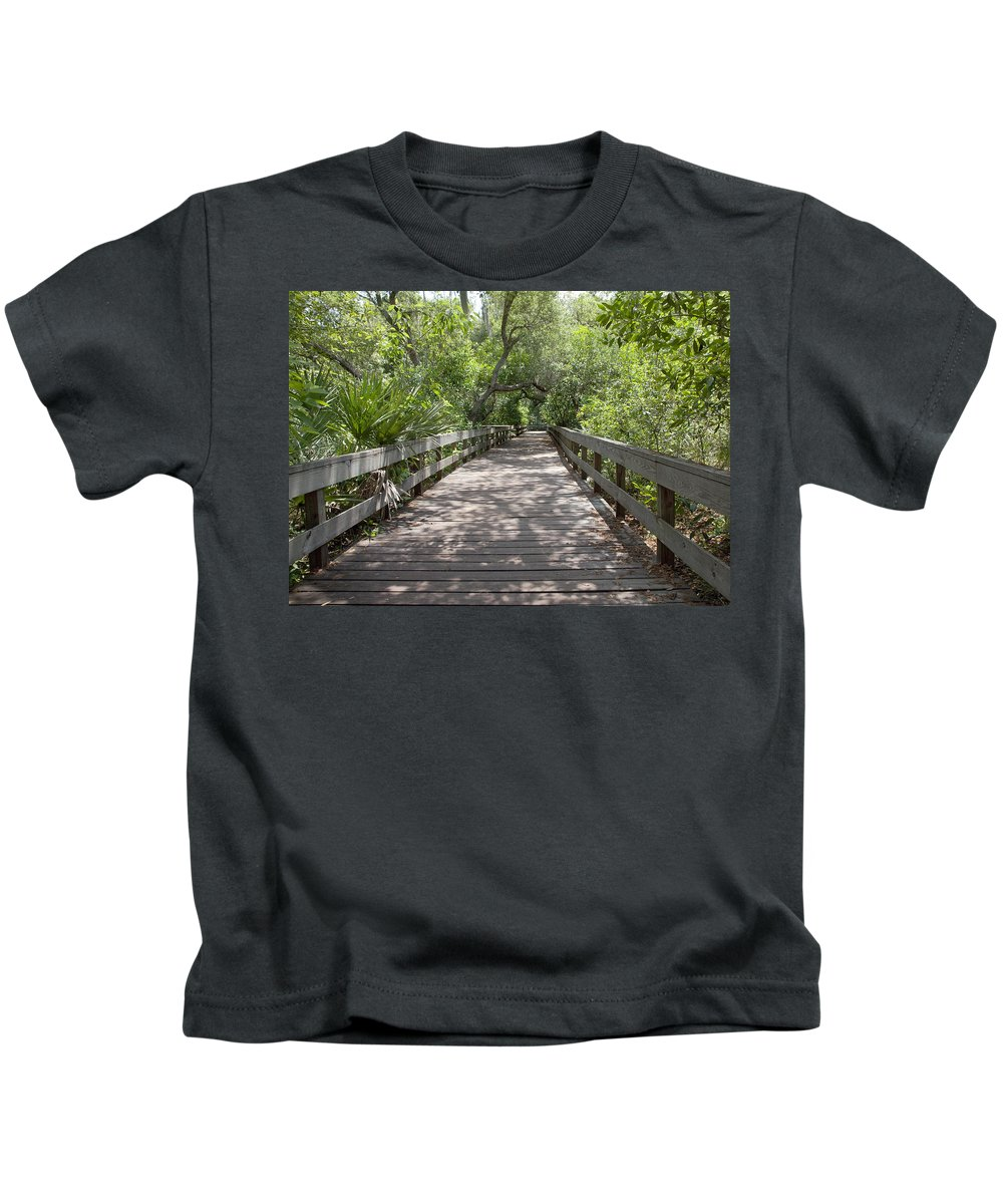 Turkey Kids T-Shirt featuring the photograph Turkey Creek by Allan Hughes