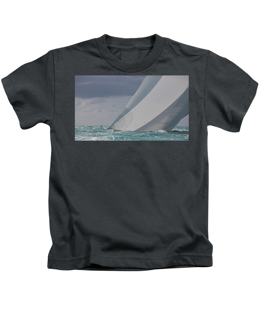 Key Kids T-Shirt featuring the photograph Doing The Ton by Steven Lapkin