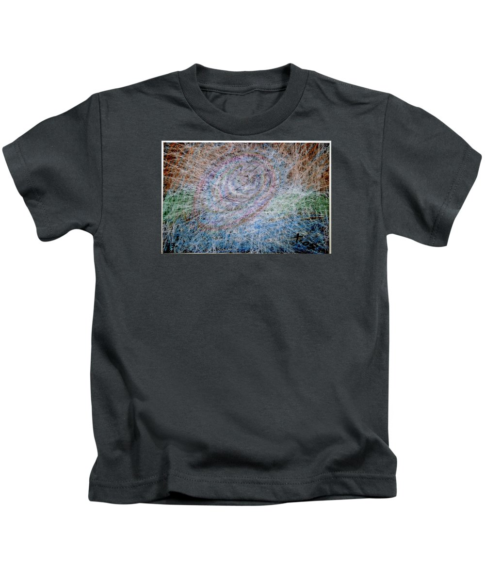Kids T-Shirt featuring the painting 43 by Terry Wiklund