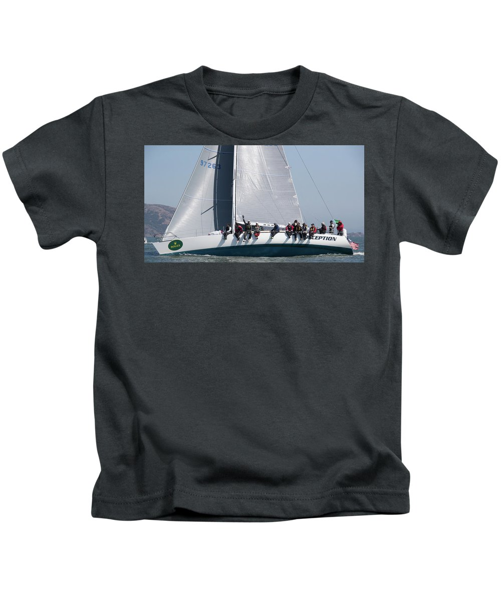 Rolex Kids T-Shirt featuring the photograph Rolex Bbs by Steven Lapkin