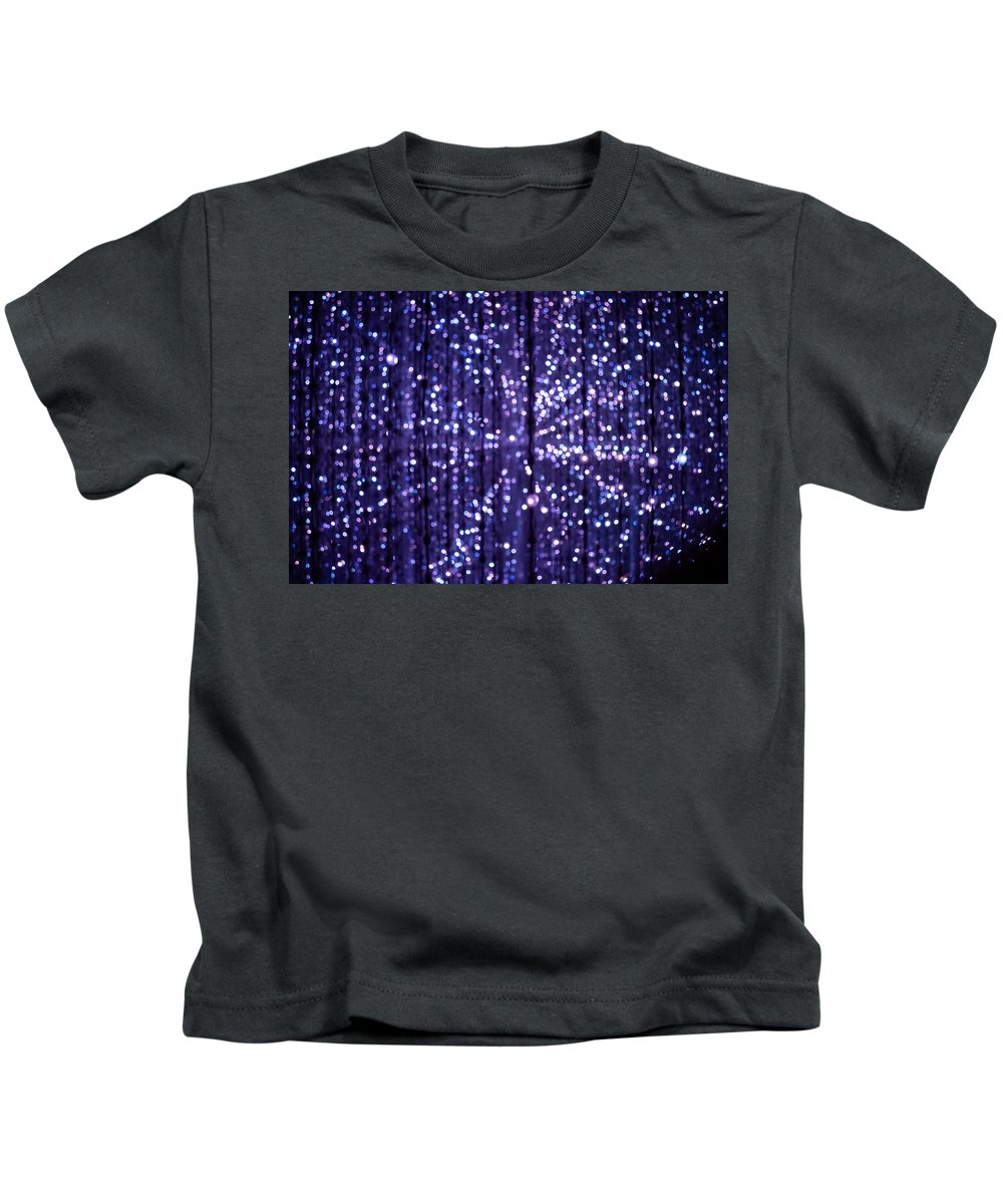 Abstract Kids T-Shirt featuring the photograph Abstract Light by Jijo George