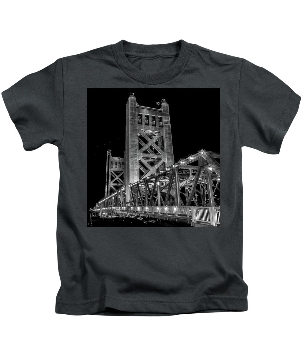 Sacramento Kids T-Shirt featuring the photograph Untitled by Cyrus Javid