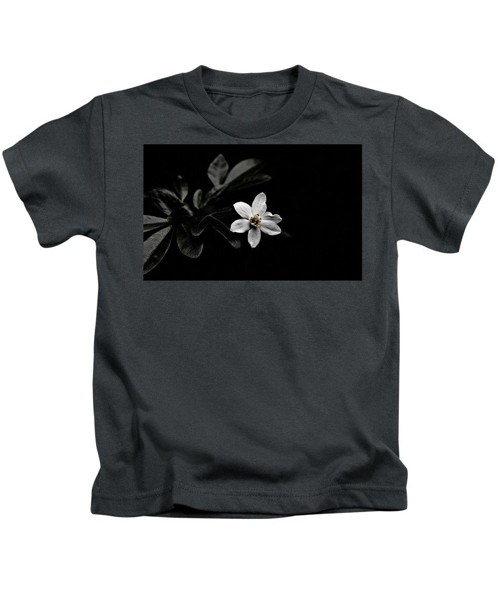 Flower Kids T-Shirt featuring the digital art Flower by Dorothy Binder