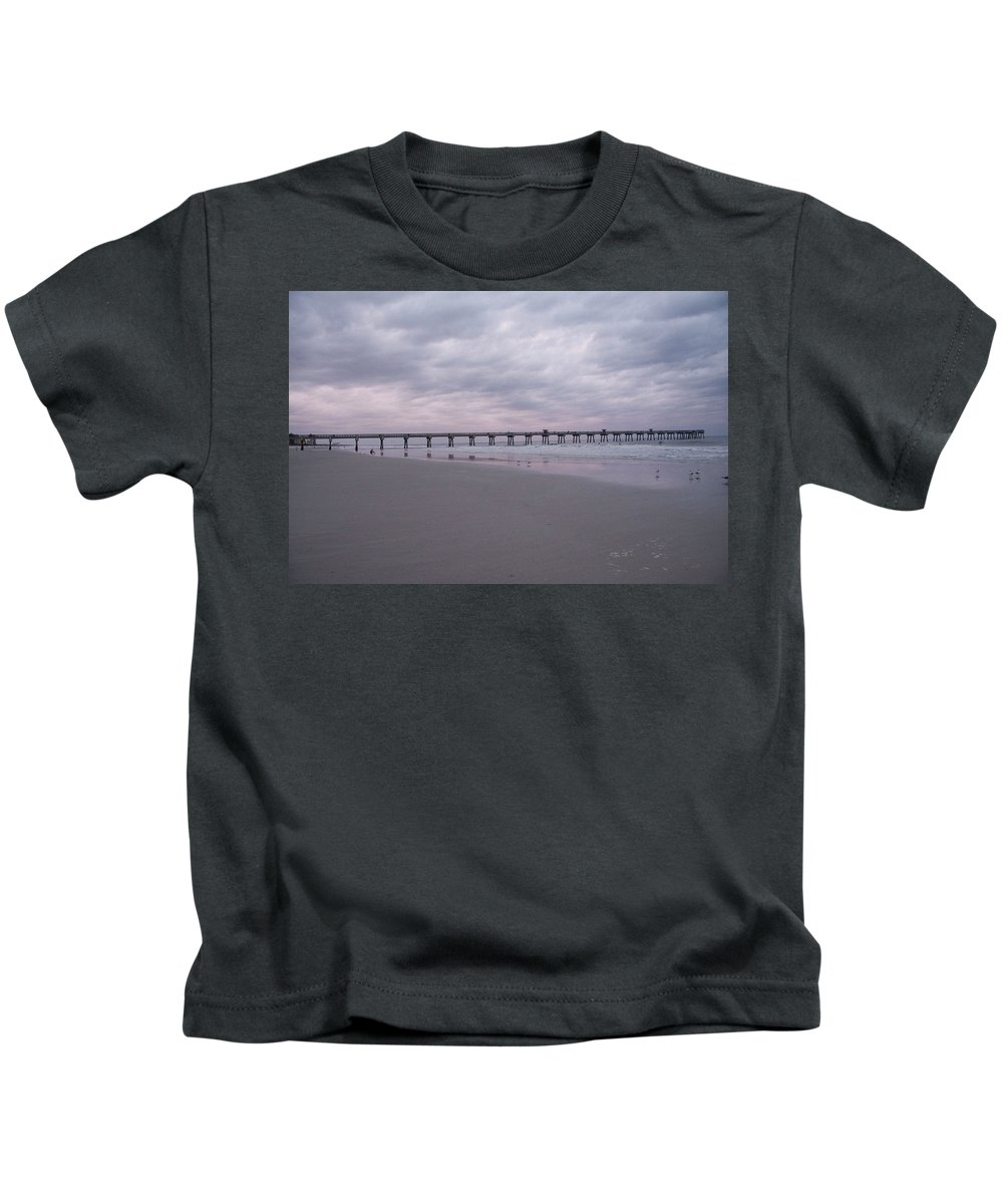 Storm Kids T-Shirt featuring the photograph A Passing Storm by Deanna Paull