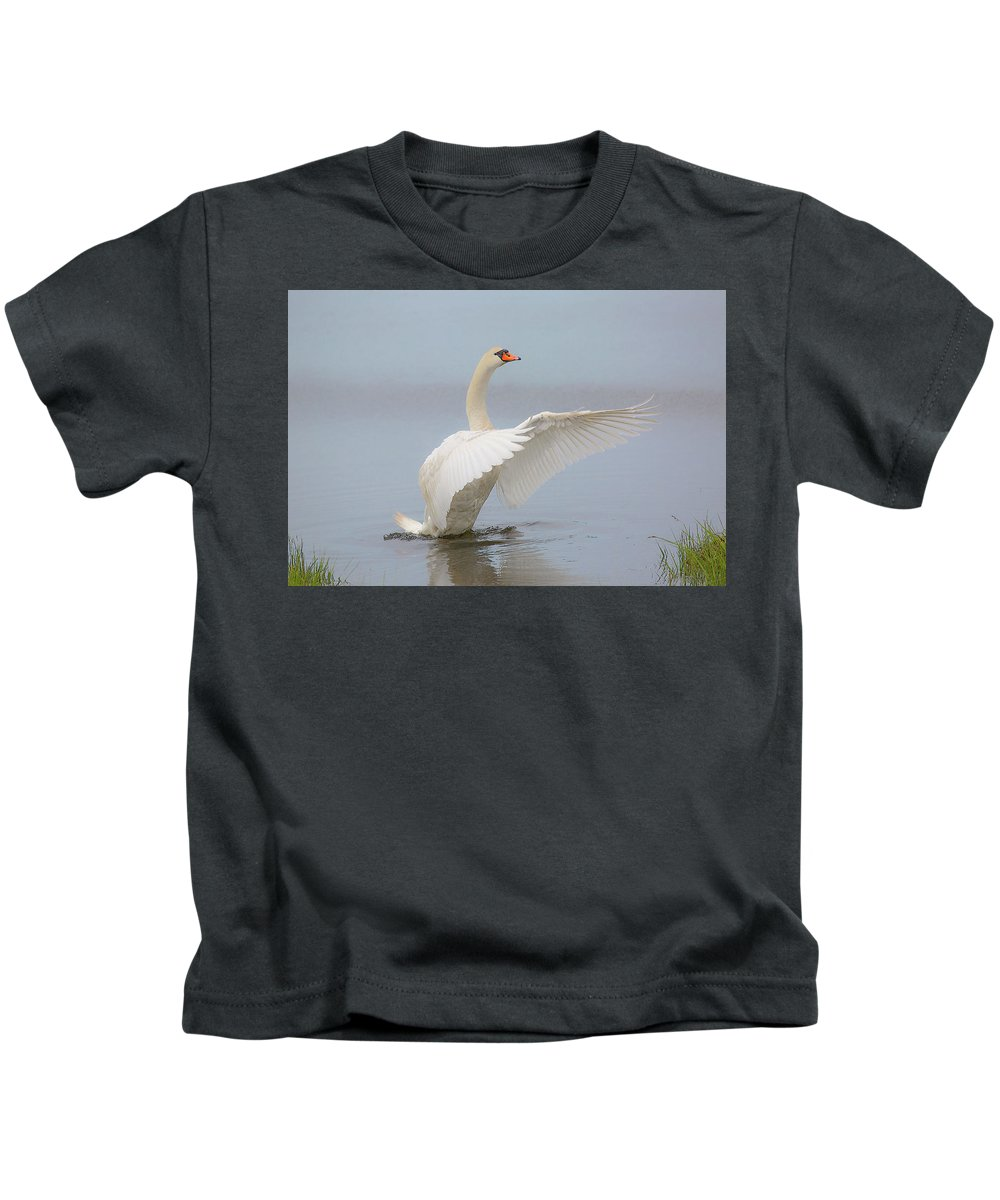 A Pen Kids T-Shirt featuring the photograph A Pen by Janet Argenta