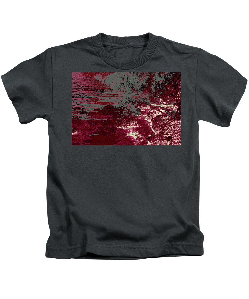 Ponds Kids T-Shirt featuring the photograph A Quiet Place 14 by Gary Bartoloni