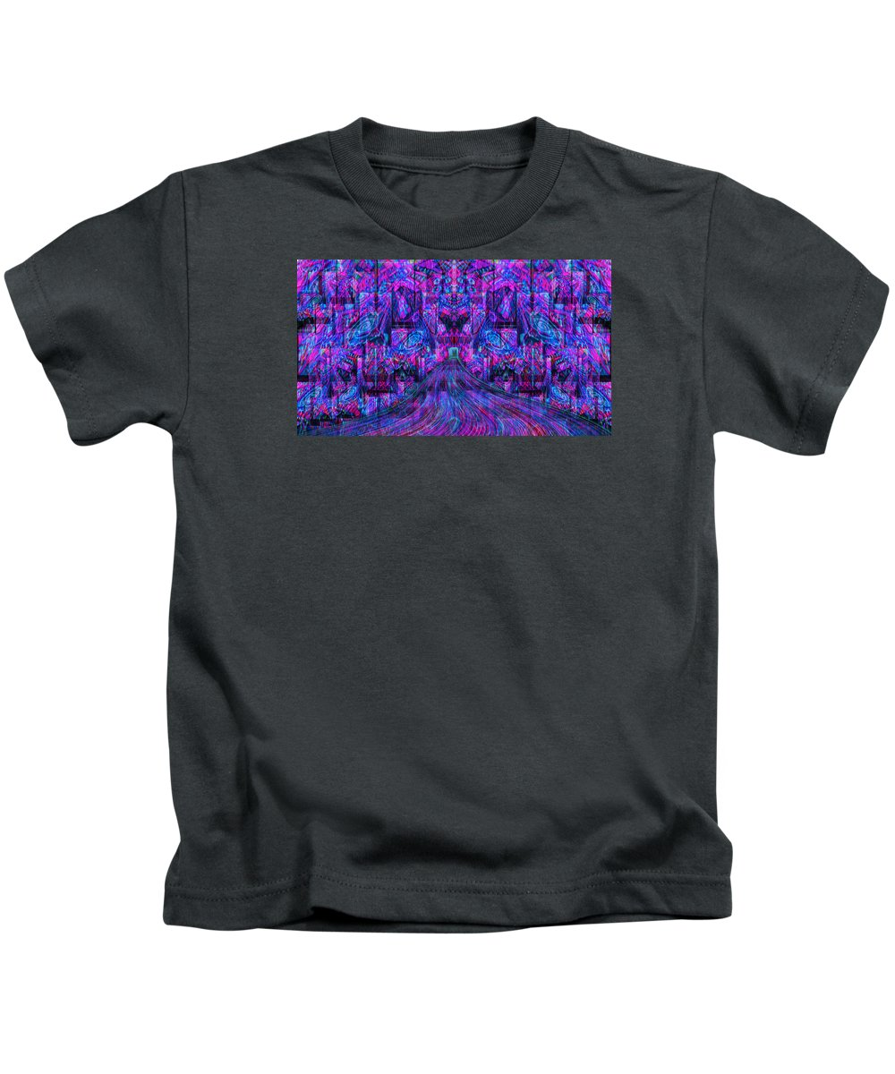 Psychedelic Kids T-Shirt featuring the photograph A Simple Kiss From Madness by Erric Zhade