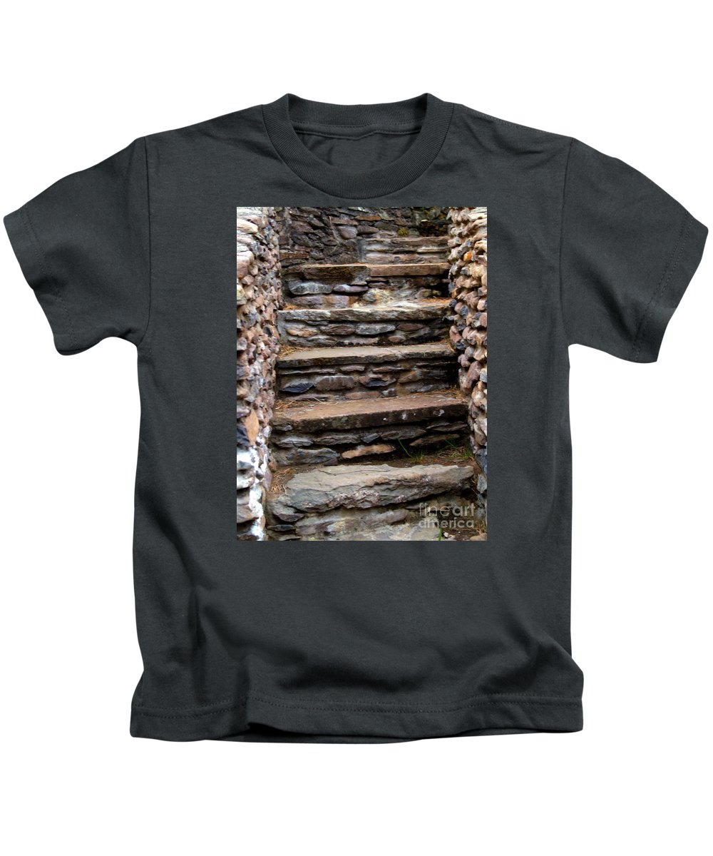 Fine Art Photography Kids T-Shirt featuring the photograph A Step Through Time by Patricia Griffin Brett