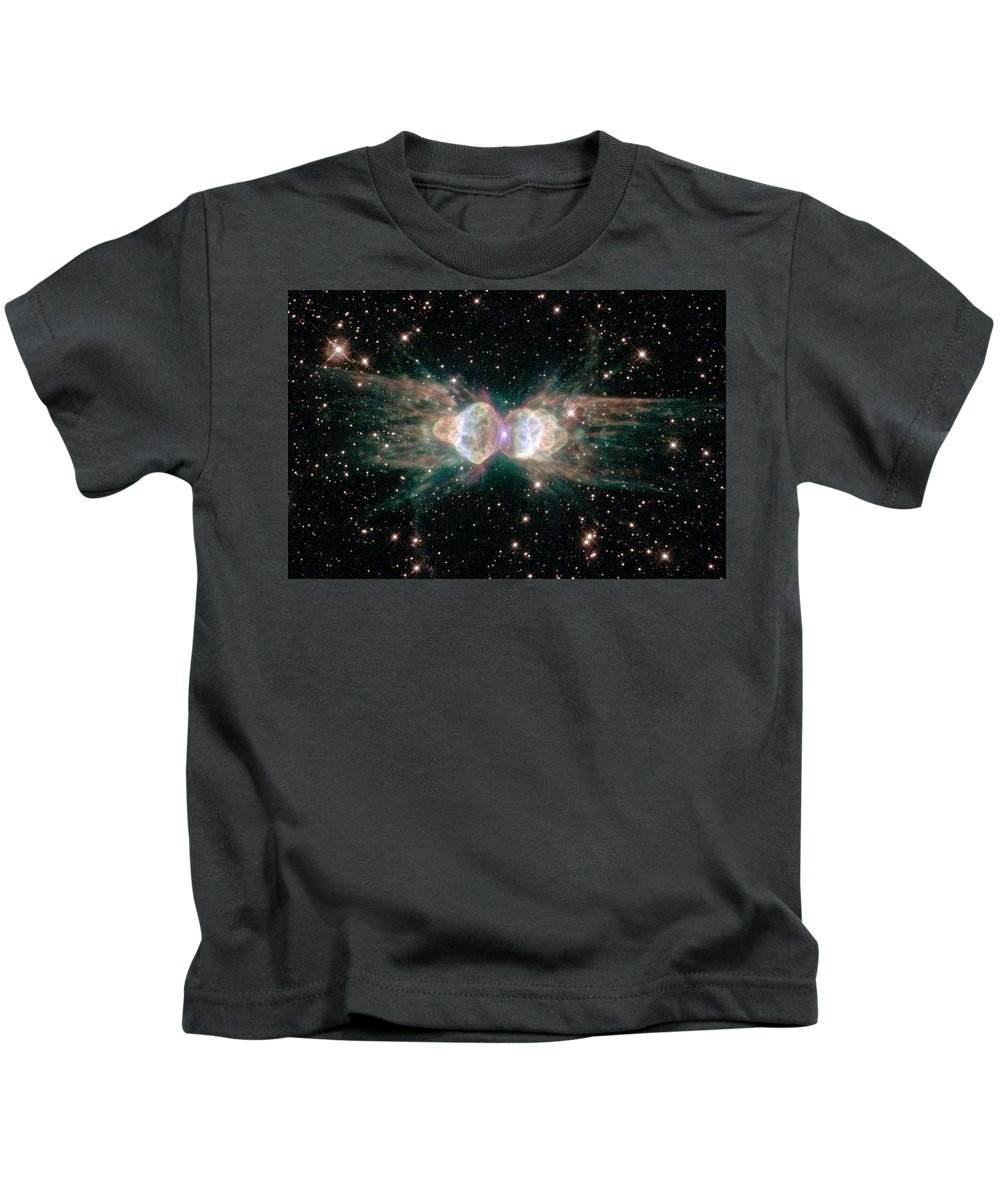 Universe Kids T-Shirt featuring the photograph A View Of The Ant Nebula by Steve Kearns