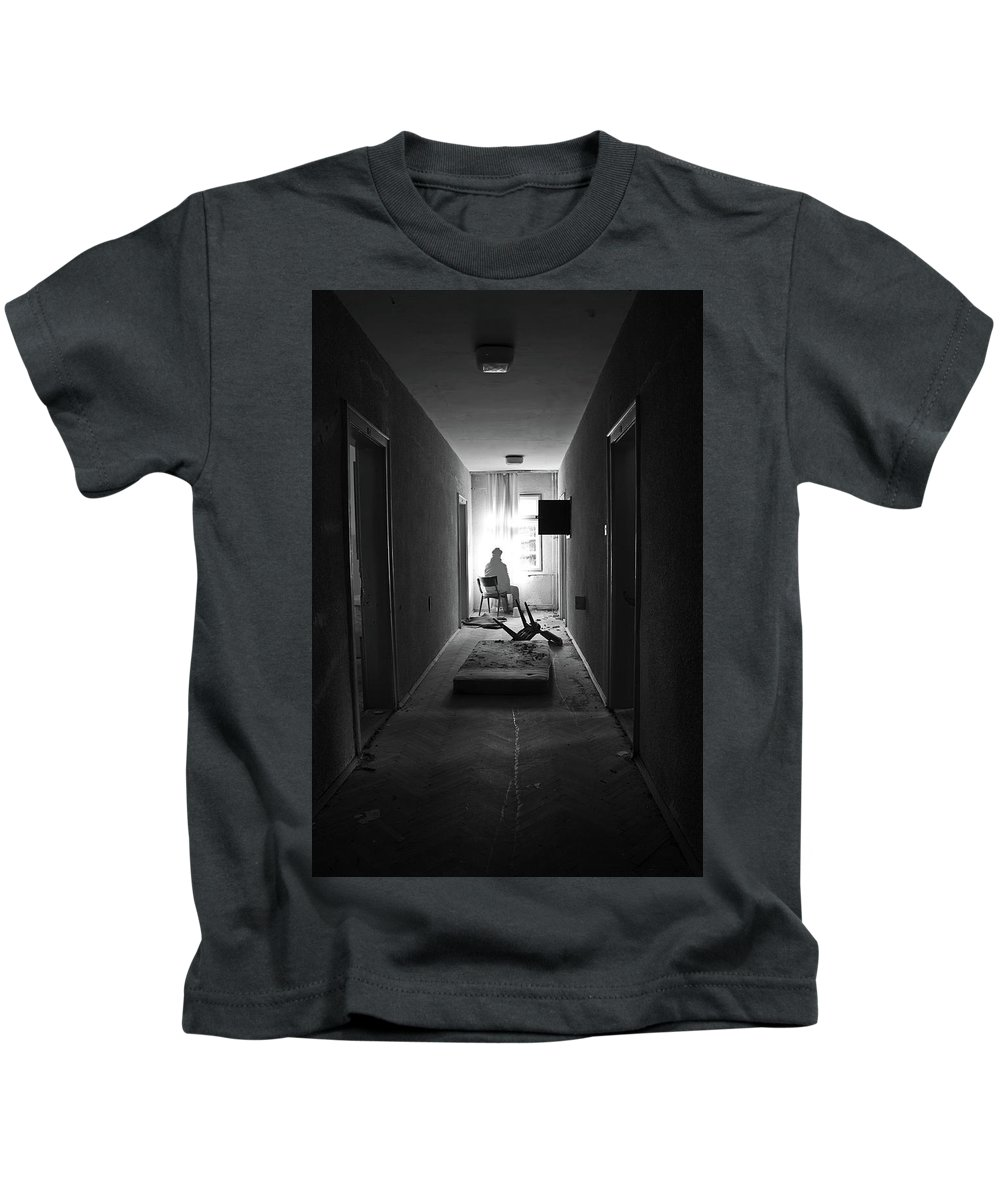Abandoned Kids T-Shirt featuring the photograph Abandoned by Dejan Dajkovic