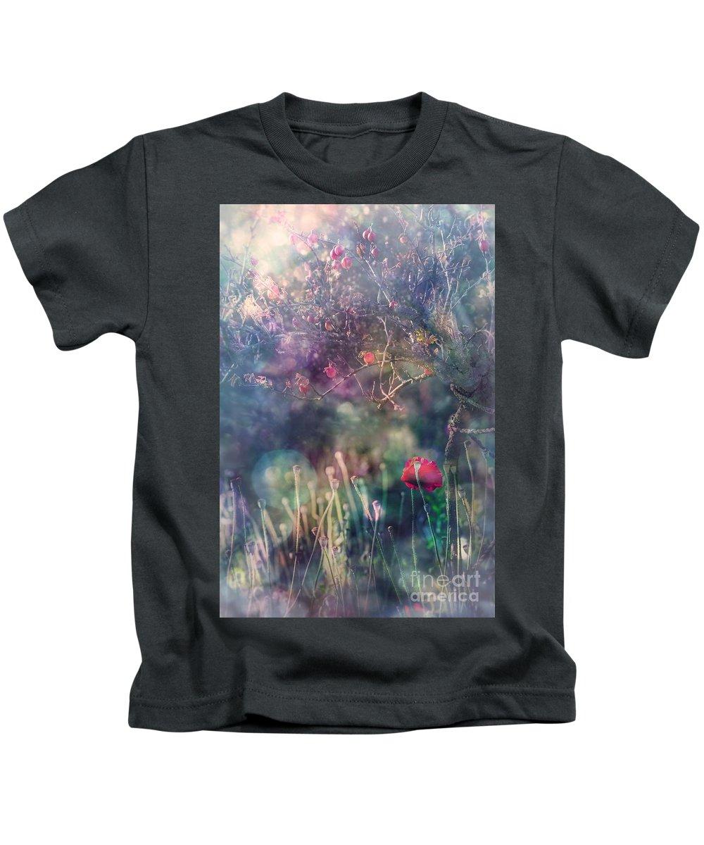 Garden Kids T-Shirt featuring the photograph Abandoned Garden II by Ezo Oneir
