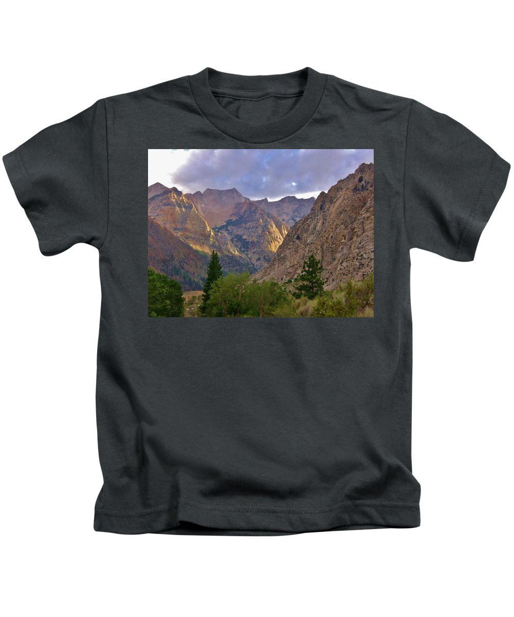 Sky Kids T-Shirt featuring the photograph About The Light by Marilyn Diaz