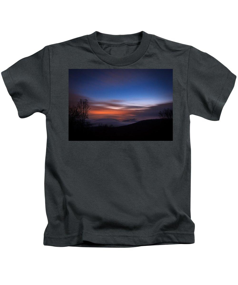 Kids T-Shirt featuring the photograph Above The Fog 2 by Jason Rinehart