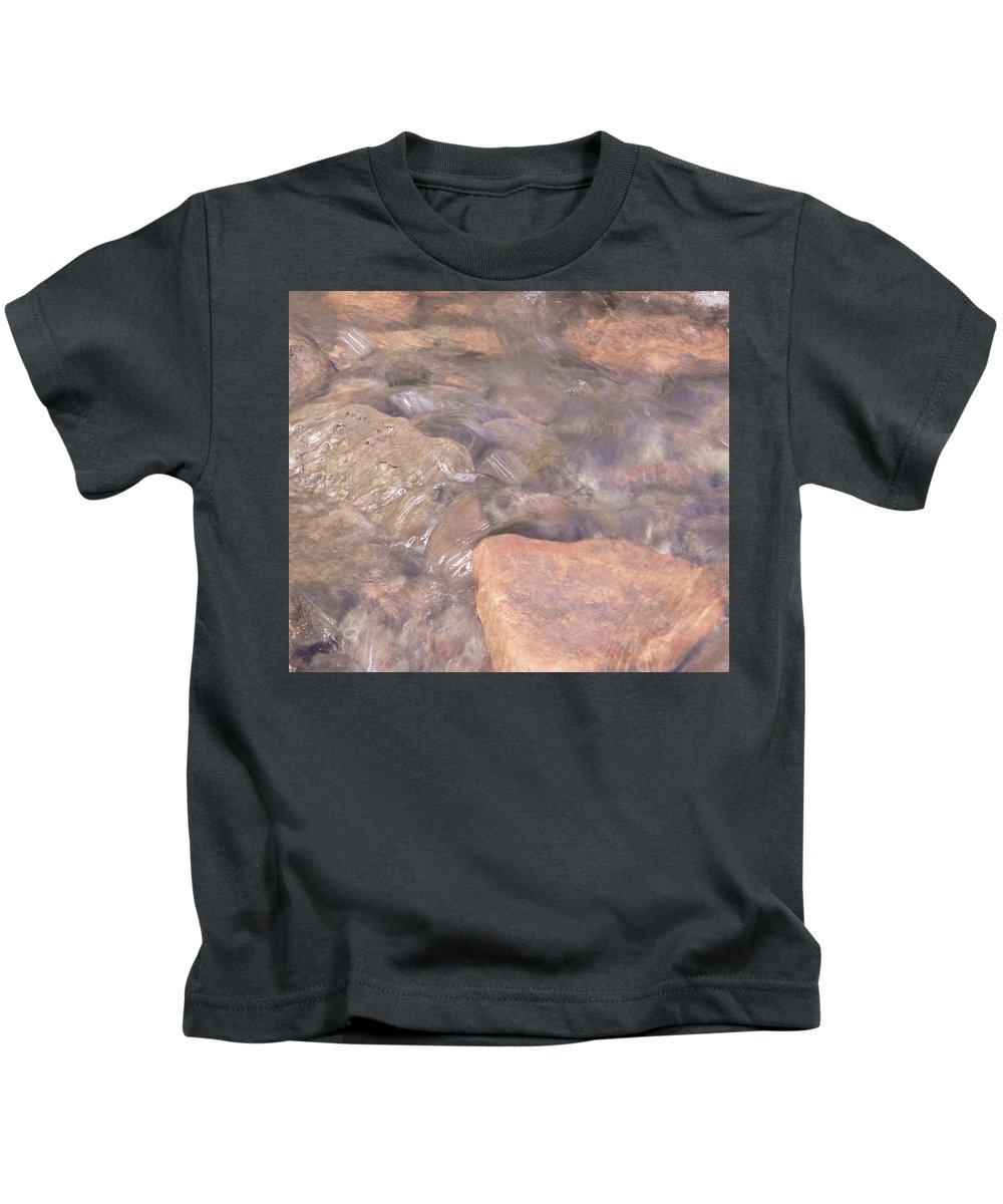 Water Kids T-Shirt featuring the photograph Abstract Water Art I by Lori Lynn Sadelack