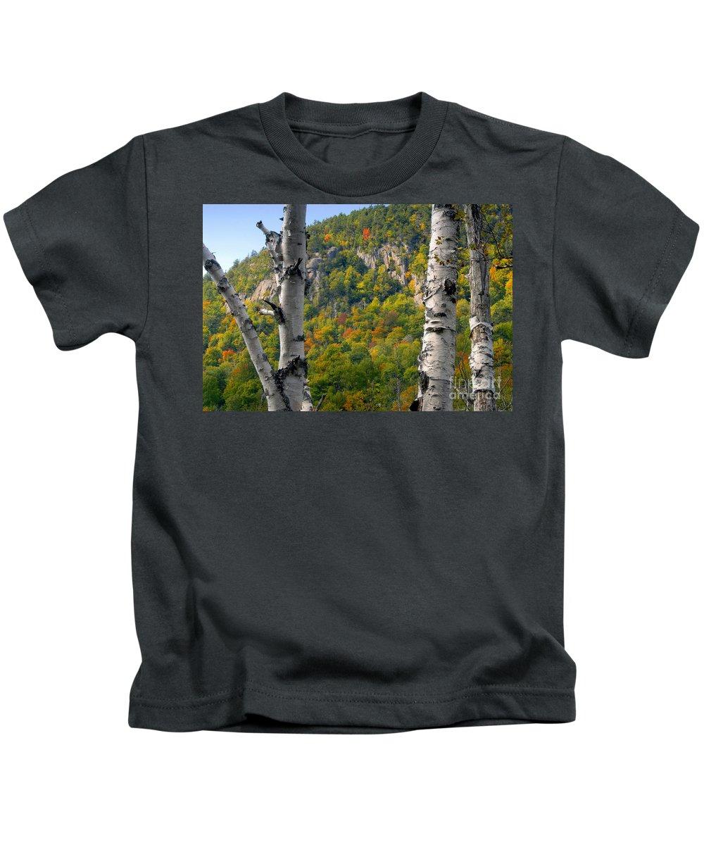 Adirondack Mountains New York Kids T-Shirt featuring the photograph Adirondack Mountains New York by David Lee Thompson