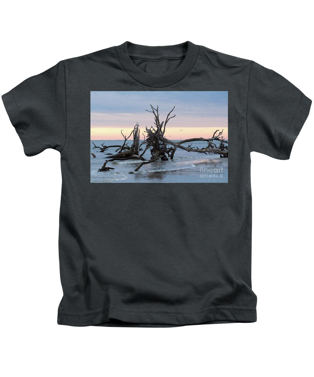 Glow Kids T-Shirt featuring the photograph After The Storm At St. Helena by Robert Loe