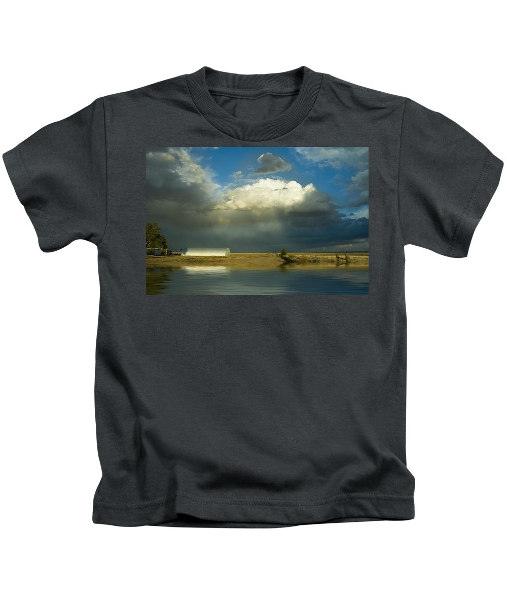 Storm Kids T-Shirt featuring the photograph After The Storm by Jerry McElroy