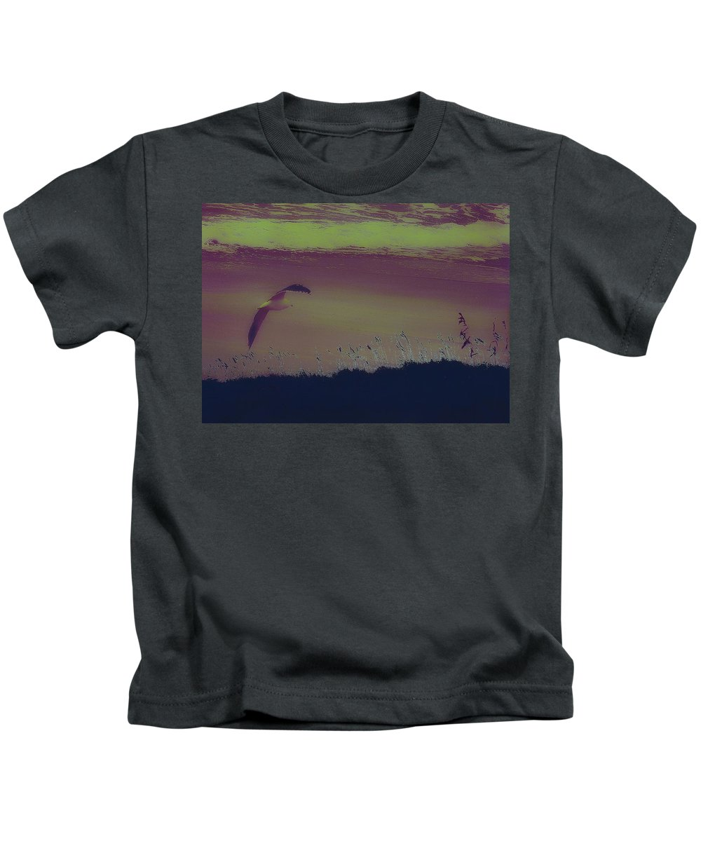 Beach Kids T-Shirt featuring the photograph Afterglow by Patricia Black