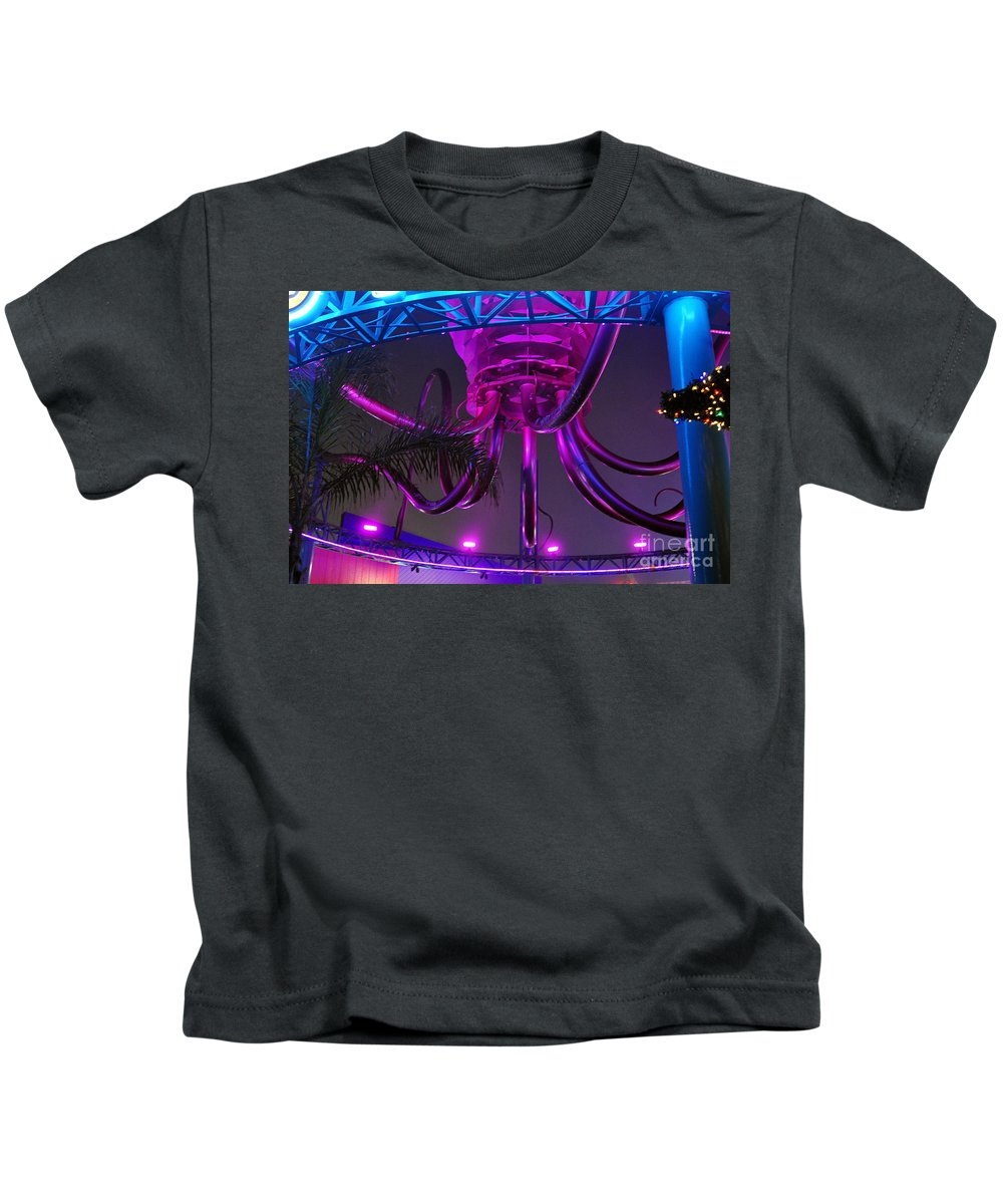 Clay Kids T-Shirt featuring the photograph Alien Ship Or What by Clayton Bruster