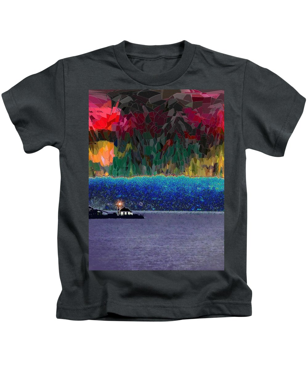 Seattle Kids T-Shirt featuring the photograph Alki Point by Tim Allen