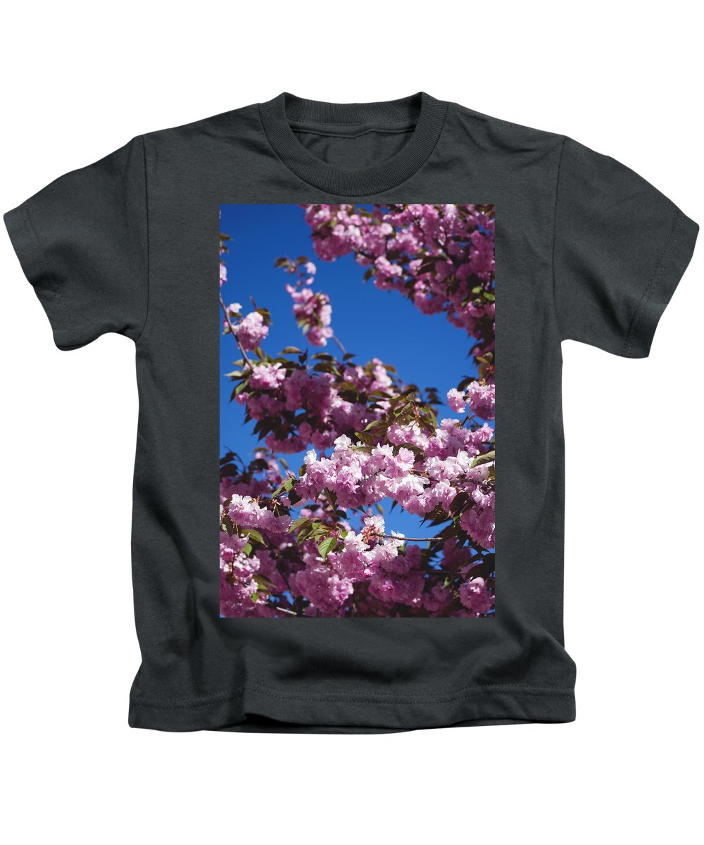 Almond Kids T-Shirt featuring the photograph Almond Flowers by Alicia Fdez