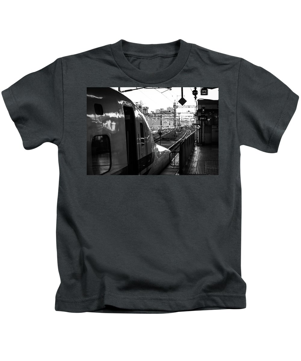 Japan Kids T-Shirt featuring the photograph Always Ready To Go by Sam Garcia