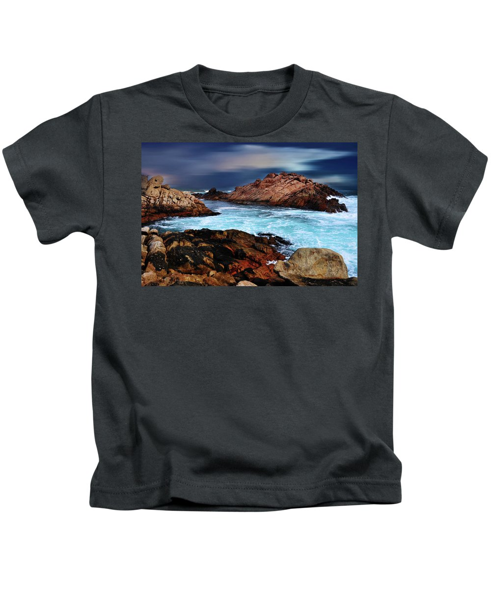Landscapes Kids T-Shirt featuring the photograph Amazing Coast by Phill Petrovic