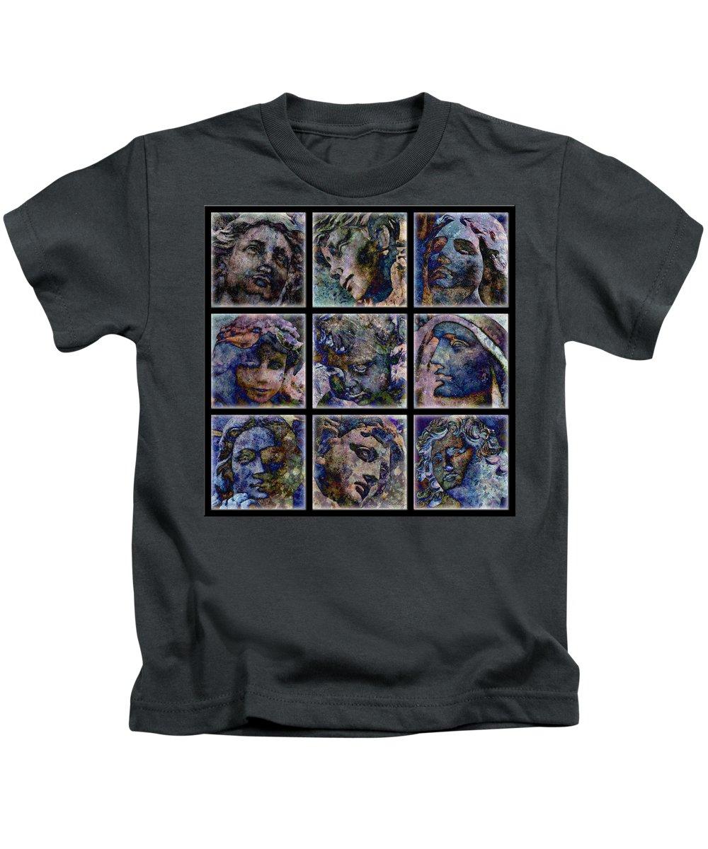 Angel Kids T-Shirt featuring the digital art Angels by Barbara Berney