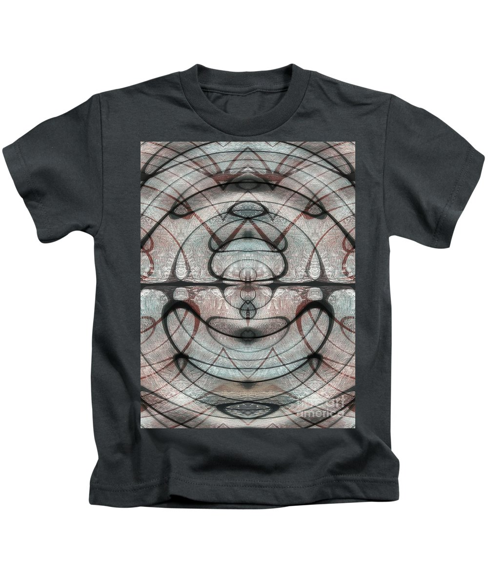 Abstract Kids T-Shirt featuring the photograph Another Dimension by Samantha Joseph