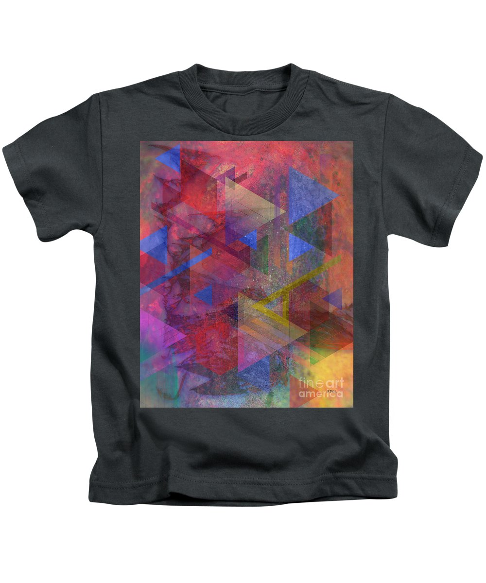 Another Time Kids T-Shirt featuring the digital art Another Time by John Beck