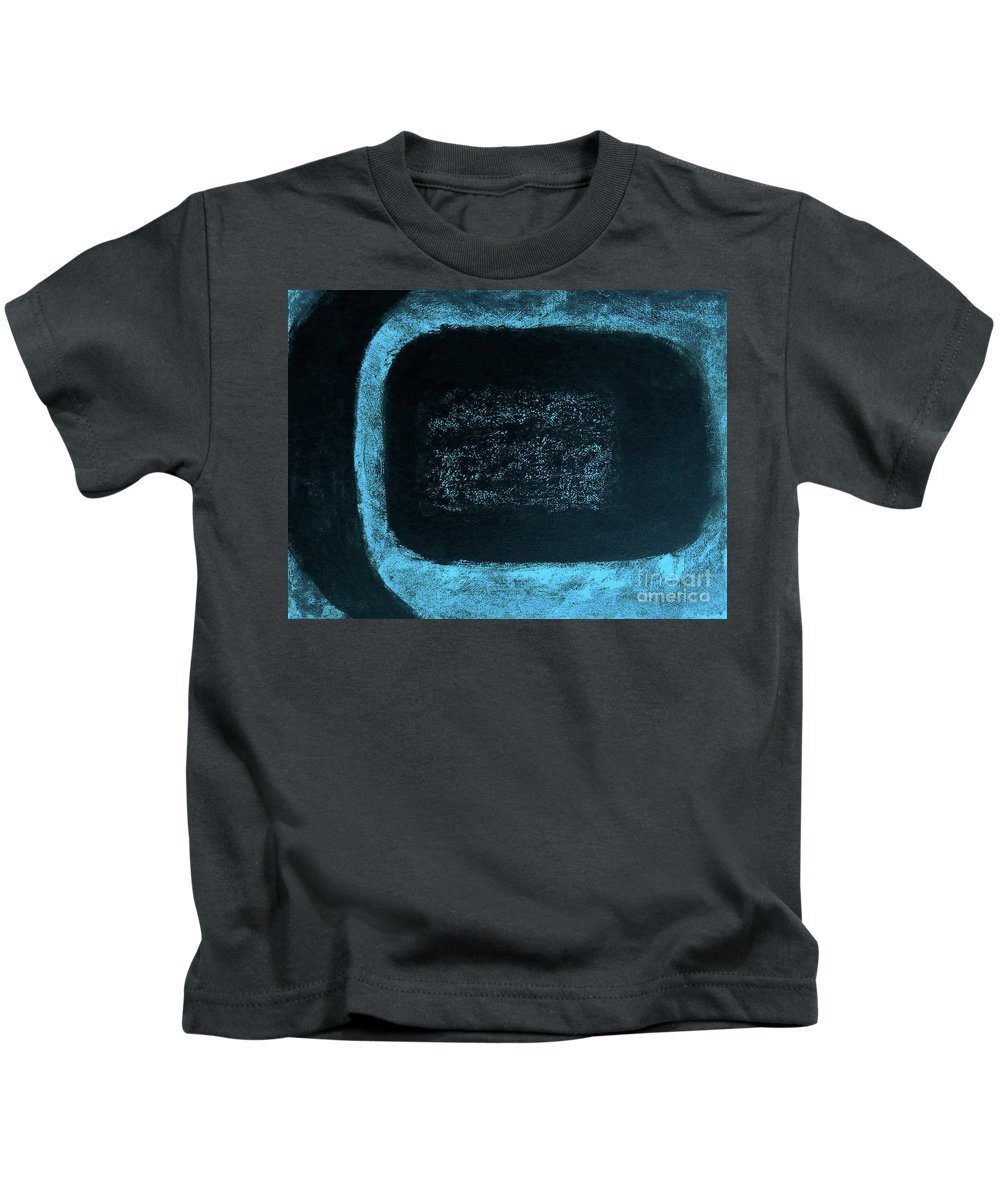 Acrylic Painting Kids T-Shirt featuring the painting Approaching The Photon Belt B by Tim Richards