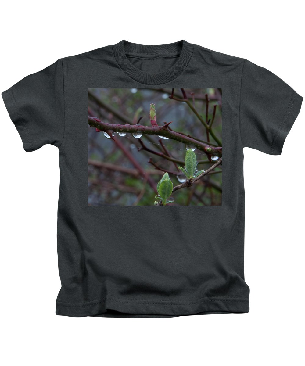 Photography Kids T-Shirt featuring the photograph April Showers by Steven Natanson