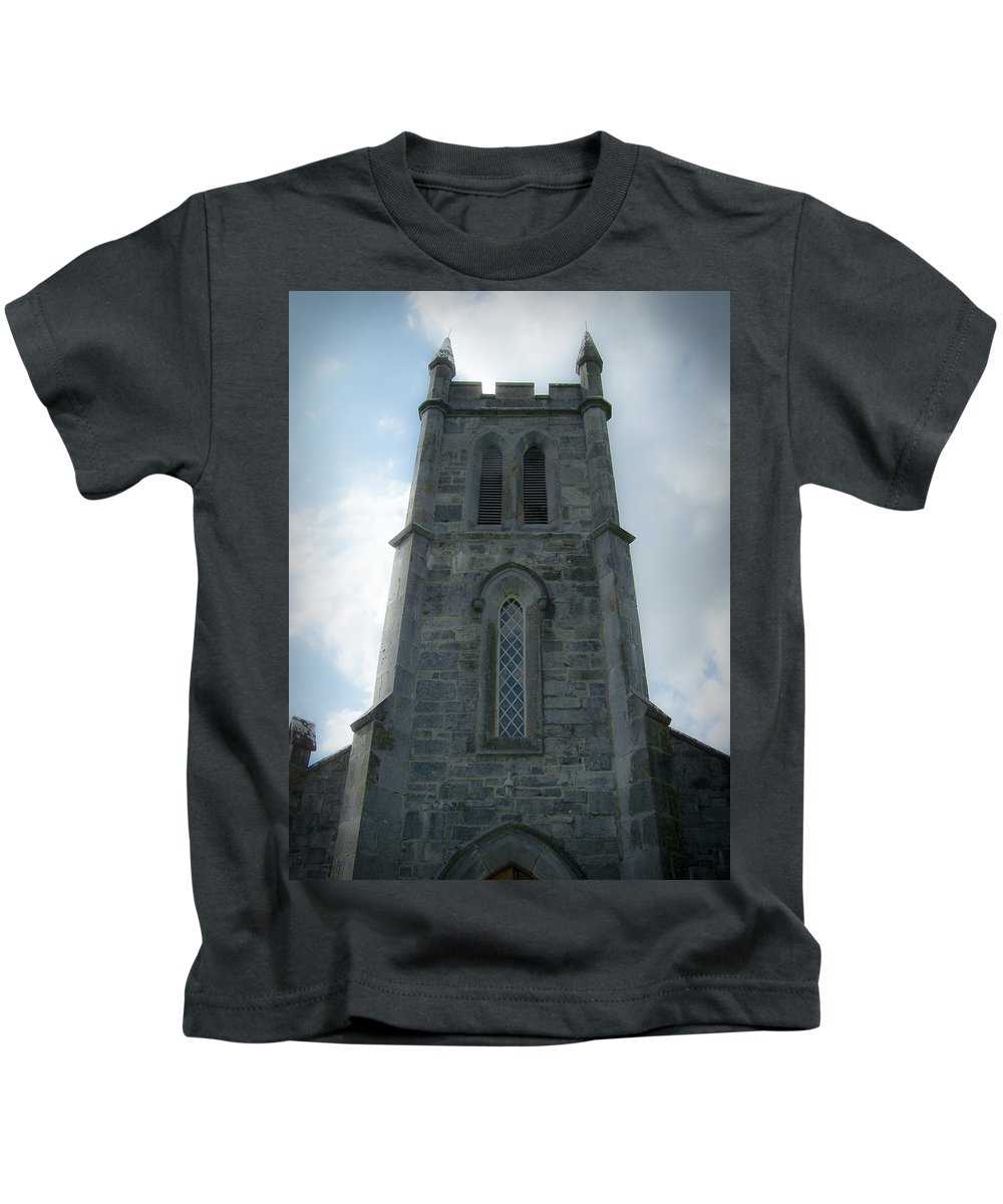 Irish Kids T-Shirt featuring the photograph Ardcroney Church County Clare Ireland by Teresa Mucha
