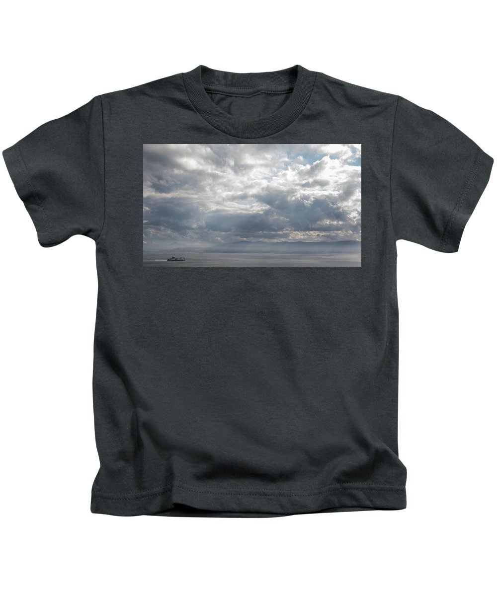 50mm Kids T-Shirt featuring the photograph Arrival by Anton Lucic