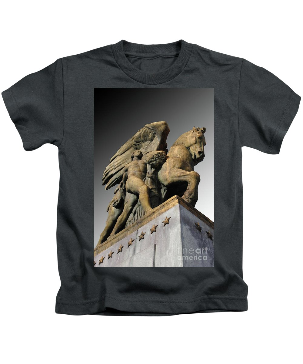 Arlington Kids T-Shirt featuring the photograph Art Of Peace by Jost Houk