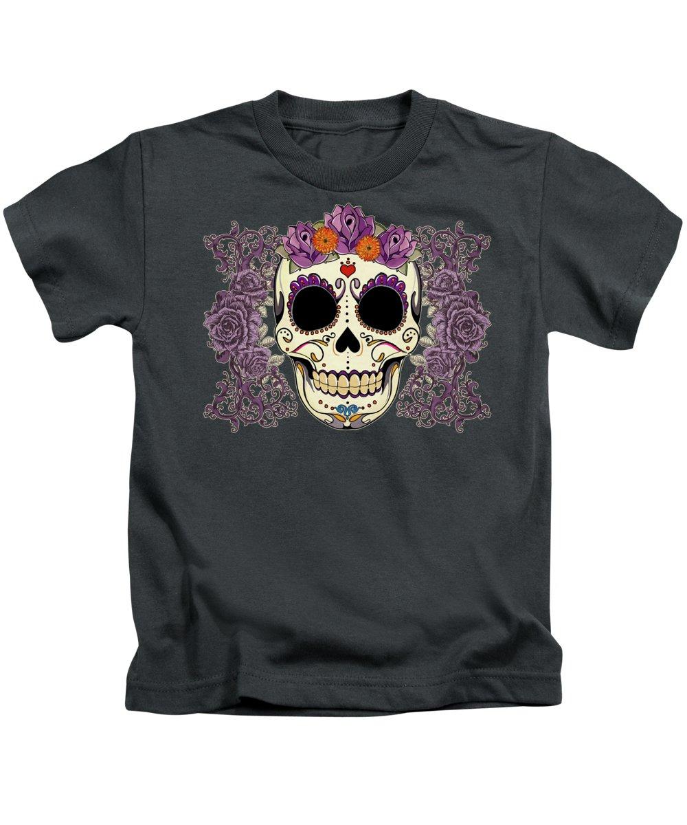 Floral Kids T-Shirts