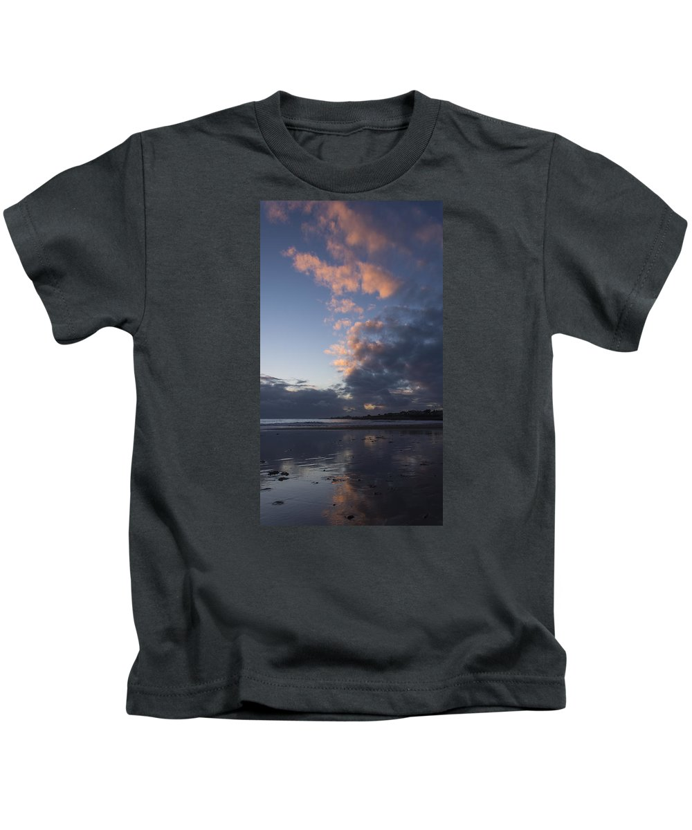 Sunset Kids T-Shirt featuring the photograph At Sundown 12/24/15 by Bruce Frye
