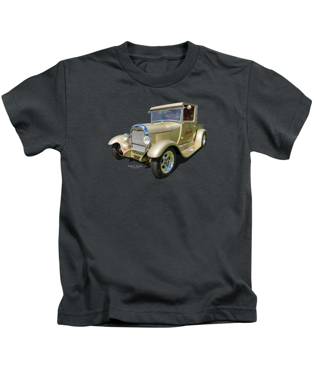 Pickup Kids T-Shirt featuring the photograph Atlas Pickup by Keith Hawley