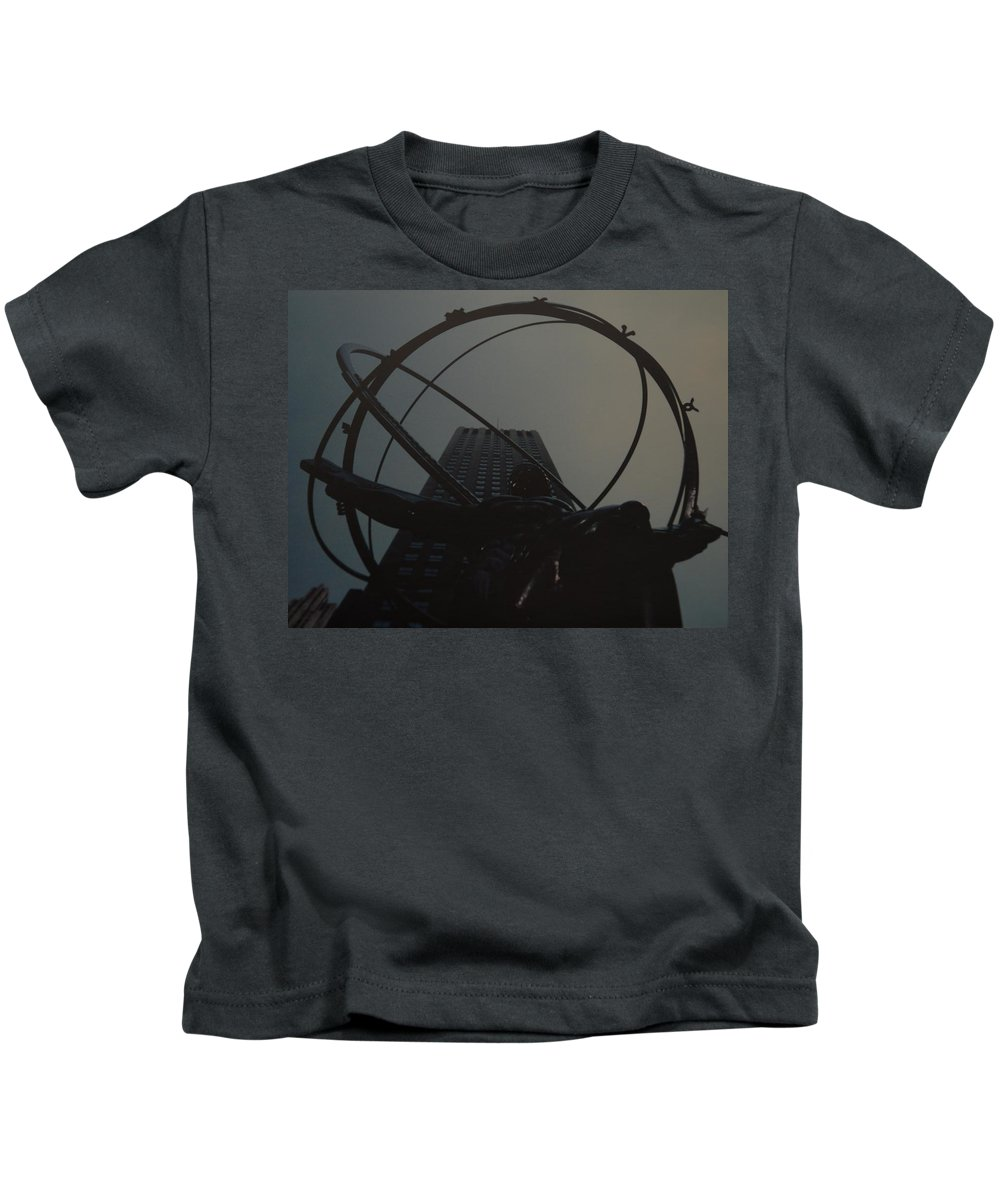 Atlas Kids T-Shirt featuring the photograph Atlas by Rob Hans