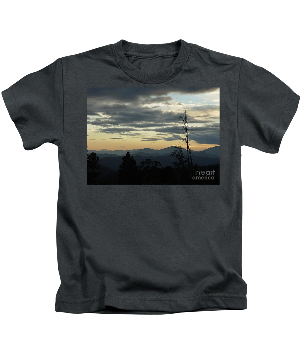 Atmospheric Kids T-Shirt featuring the photograph Atmospheric Perspective by Peter Piatt