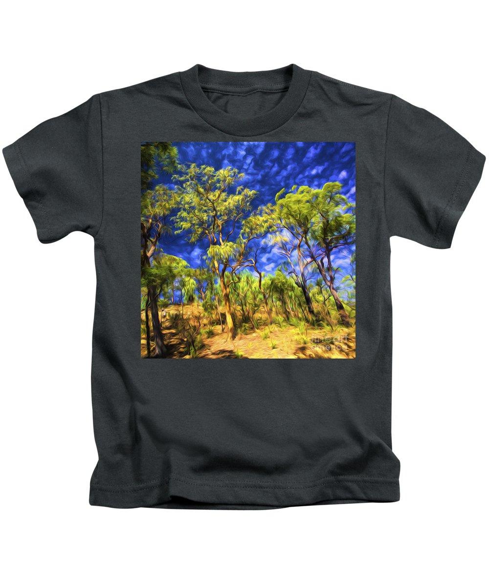 Australian Bush Kids T-Shirt featuring the photograph Australian bush by Sheila Smart Fine Art Photography