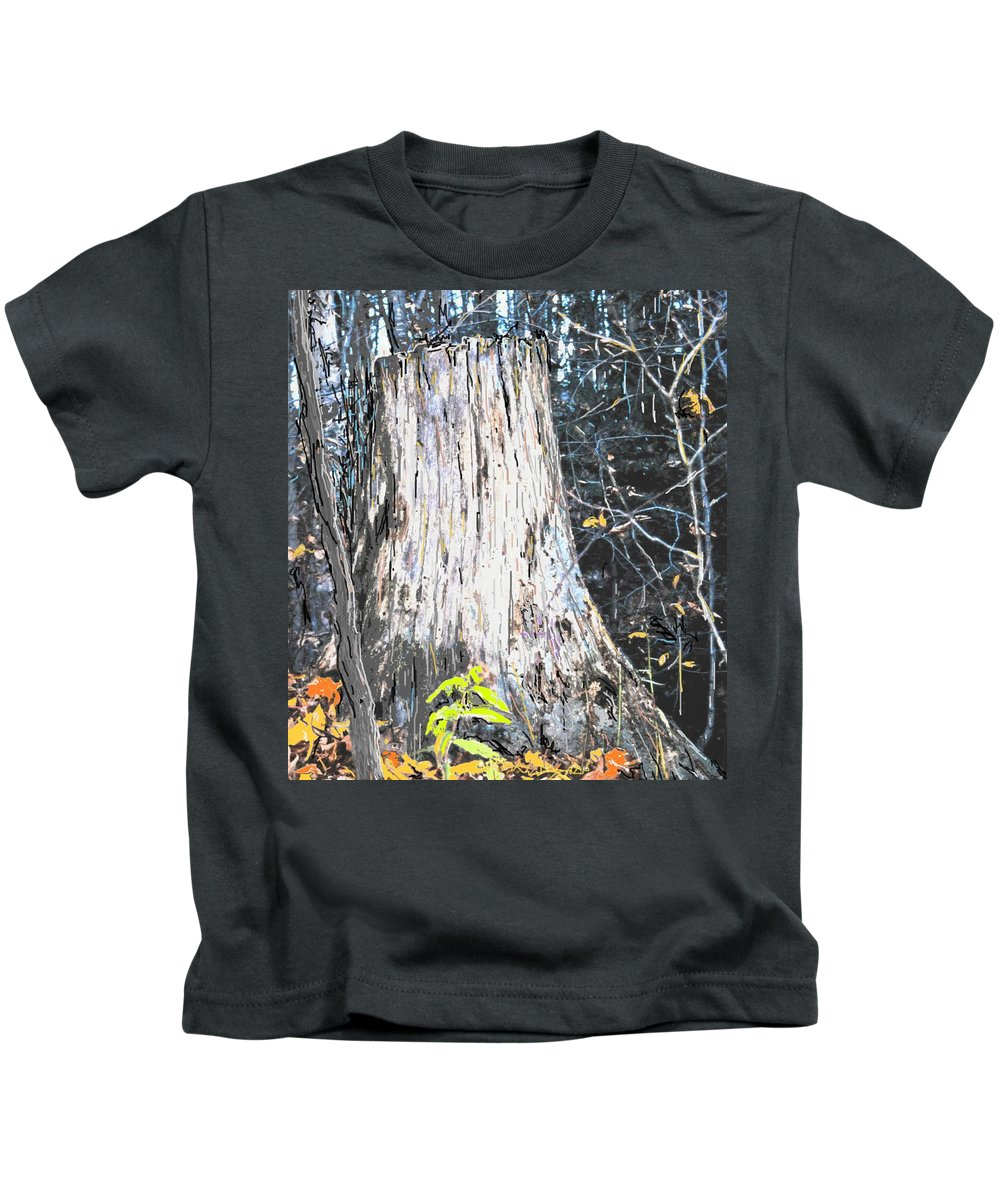 Fall Kids T-Shirt featuring the photograph Autumn by Ian MacDonald
