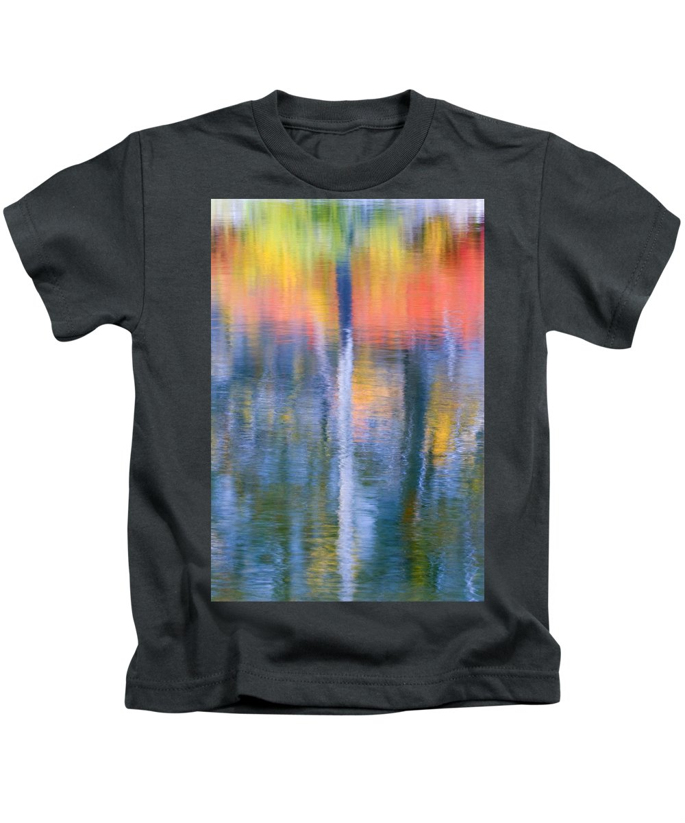 Reflection Kids T-Shirt featuring the photograph Autumn Resurrection by Mike Dawson