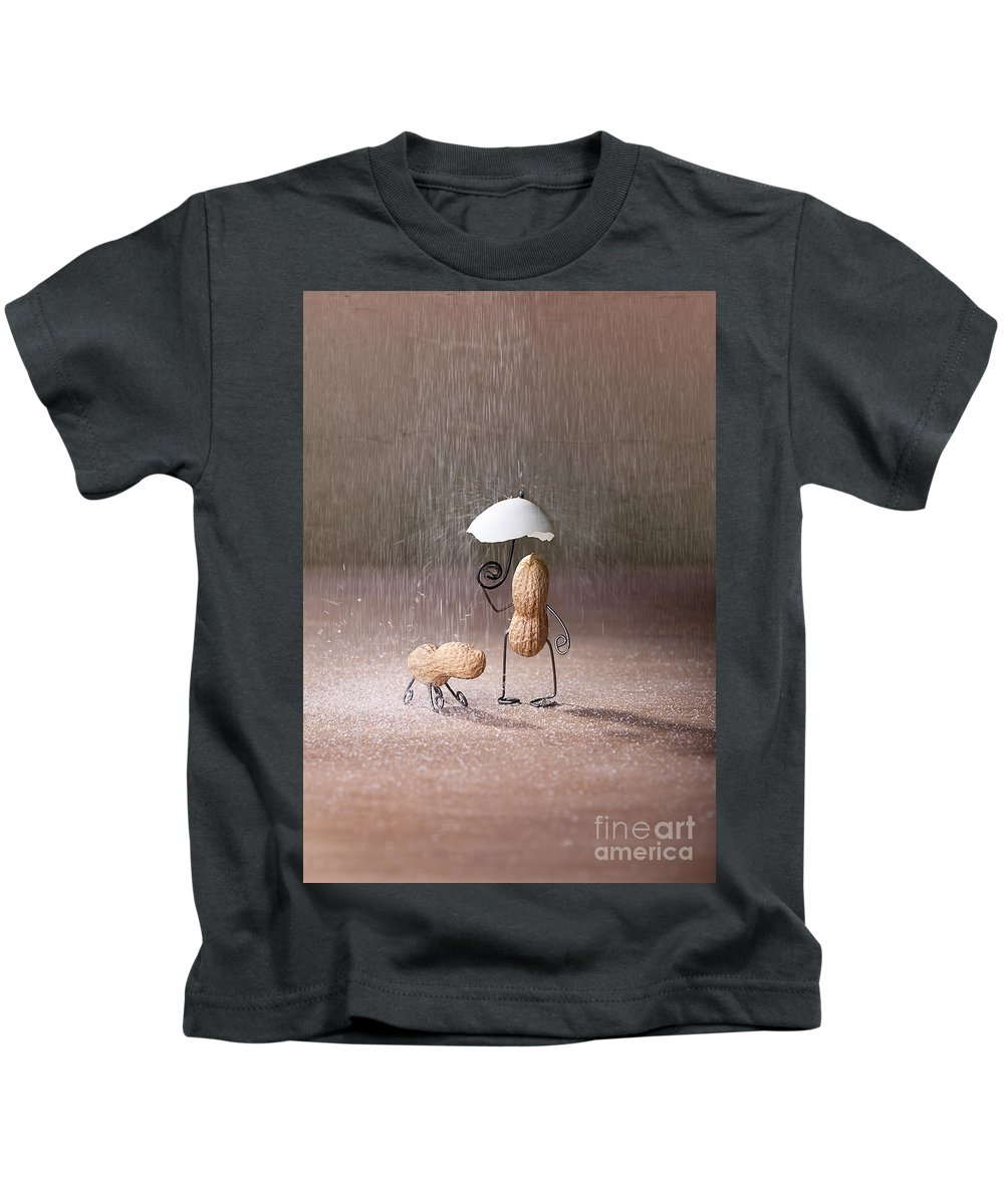 Peanut Kids T-Shirt featuring the photograph Bad Weather 02 by Nailia Schwarz