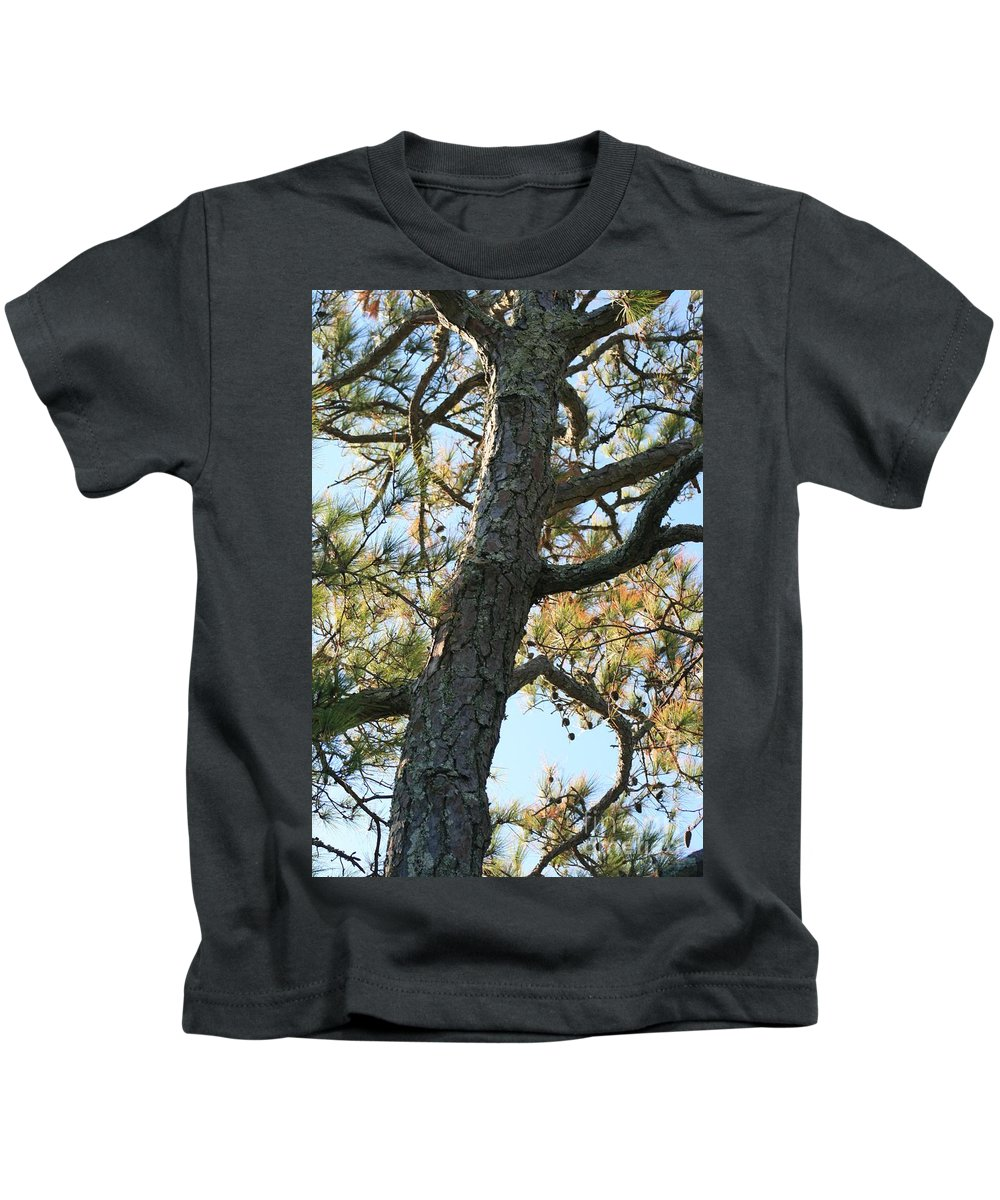 Tree Kids T-Shirt featuring the photograph Bald Head Tree by Nadine Rippelmeyer